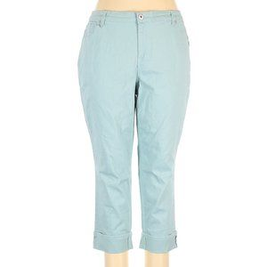 Style & Co Plus Size Curvy Cuffed Capri Jeans